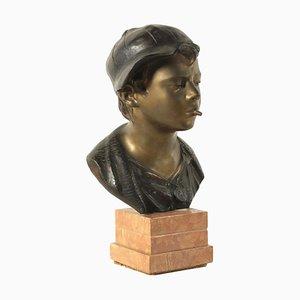 Scultura in bronzo di Giovanni De Martino, 1870-1935