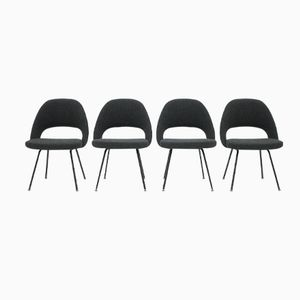 Mod. 71 Chairs by Eero Saarinen for Knoll International, 1960s, Set of 4