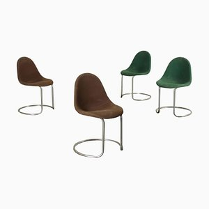 Chairs by Giotto Stoppino, Set of 4