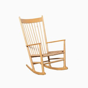 J16 Rocking Chair by Hans Wegner for Fredericia