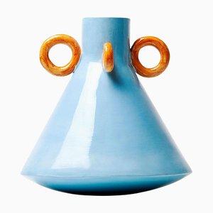 Jarrón de cerámica Ramina de Arianna De Luca