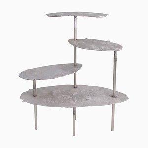 Mensola Concretion in alluminio di Studio Julien Manaira