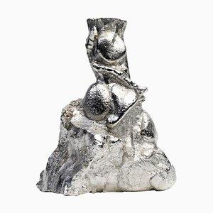Stone Tin Vase by Kajsa Willner