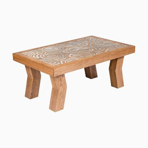 Table Basse Cubiste par Francesco Perini