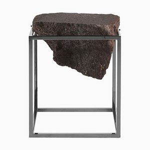 Black Antivol Small Side Table by Ctrlzak
