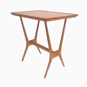 Mesa auxiliar de madera, años 50