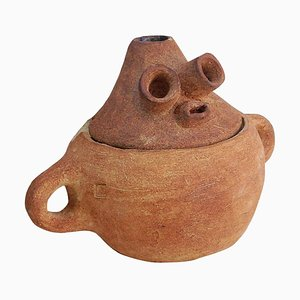 Emaillierte Vase von Meritxell Duran