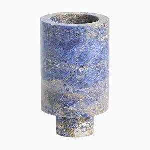 Vaso Blue Inside Out di Karen Chekerdjian
