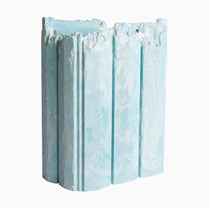 Kleines Cornice Gefäß in Blau von Studio Lenny Stöpp