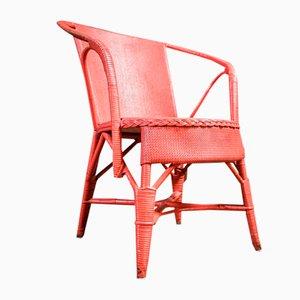 Vintage Pink Chair by Lloyd Loom, 1930s