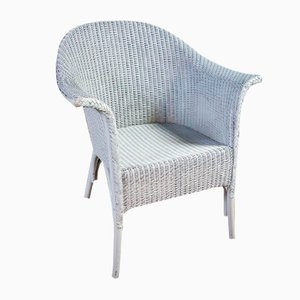 Vintage Blue Chair by Lloyd Loom, 1930s