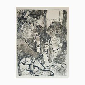Libro La Maison Tellier, vintage raro Illustrated After Edgar Degas, 1934