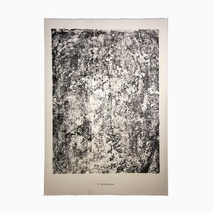 Earth Garden, Litografia originale, 1959