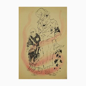 The Diktators, Original Tinte von Adolf Reinhold Hallman, 1938