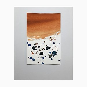 Splash, dibujo acuarela original de Antonietta Valente, 2020