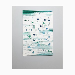Freshness, Original Aquarell Zeichnung von Antonietta Valente, 2020