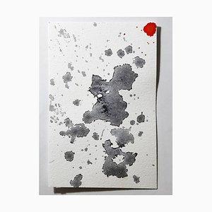 Dessin Accent, Aquarelle Originale par Antonietta Valente, 2020
