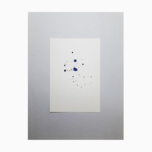Lapis Saft, Original Aquarell Zeichnung von Antonietta Valente, 2020