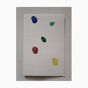 Gems, Watercolor Drawing original de Antonietta Valente, 2020