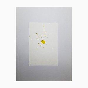 Zitronensaft, Original Aquarell Zeichnung von Antonietta Valente, 2020