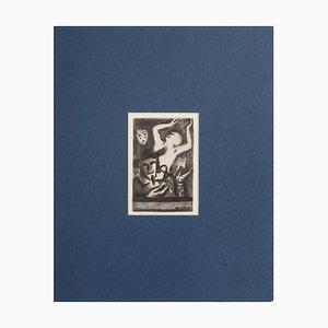 Grabado Copperplate, Original de Georges Gorvel, 1928