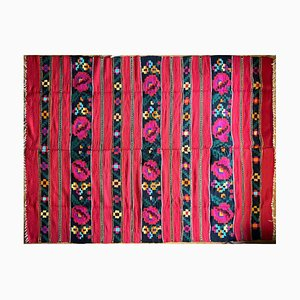 Romanian Red Wool Rug