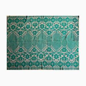 Grüner Rumänischer Teppich
