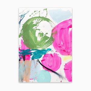 Eintauchen in den Tag 1, Abstract Work on Paper, 2020