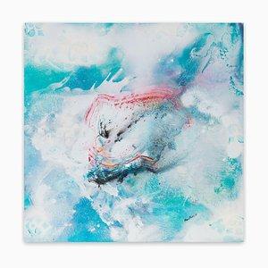 Peinture Reflets du Ciel, Peinture Abstraite, 2017