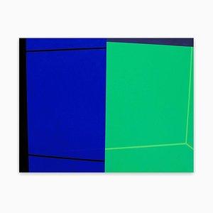High Wire, Abstrakte Malerei, 2017