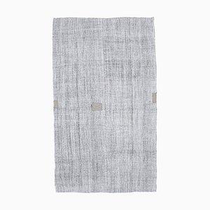 Vintage Turkish Flat Weave Oushak Kilim Handmade Wool Rug