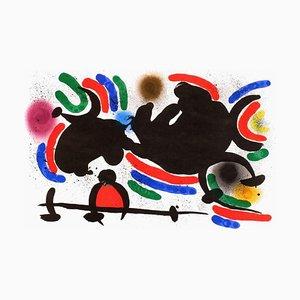 Miro Lithograph I,07 by Joan Miro