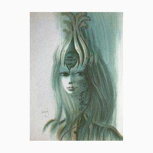 Jeune Femme par Francis De Saint, Genies