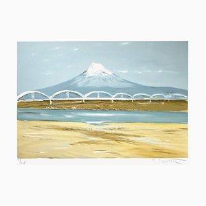 Fujiyama, Japon par Georges Laporte
