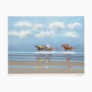 First Gallop in Deauville II by Pierre Doutreleau