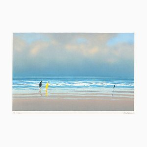 Couple On the Beach par Pierre Doutreleau