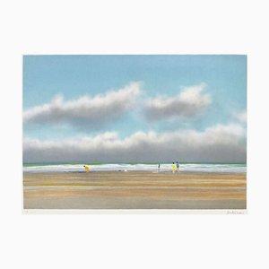 Miramar Beach Biarritz by Pierre Doutreleau