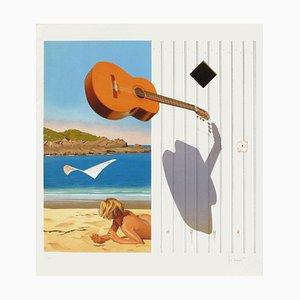 Shadow and Guitar von Jean, Pierre Henaut