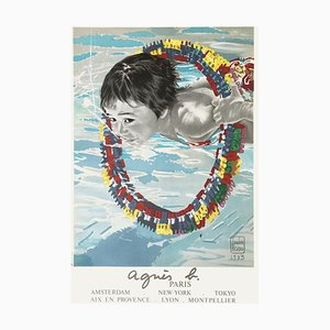 Affiche The Bather par Loulou Picasso