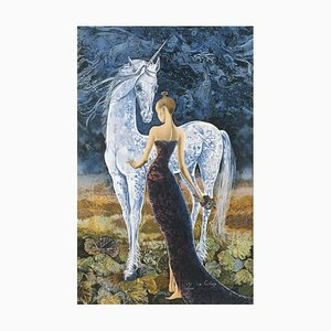 The Lady and the Unicorn II by Pierre Le Colas