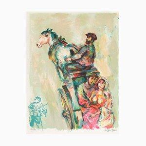 Les Mariés par Walter Spitzer