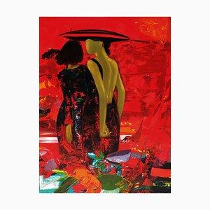 Jardin Rouge par Gérard Le Nalbaut