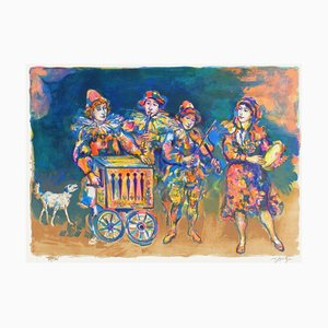 Les Jeunes Musiciens by Walter Spitzer