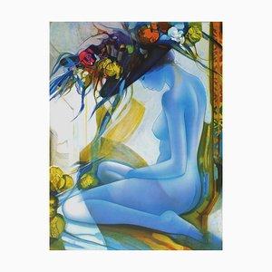 Chapeau aux Fleurs Jaune von Jean, Baptiste Valadié