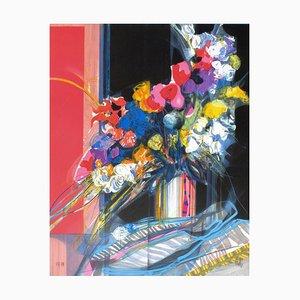 Fleurs dans la Lumière I par Jean, Baptiste Valadié