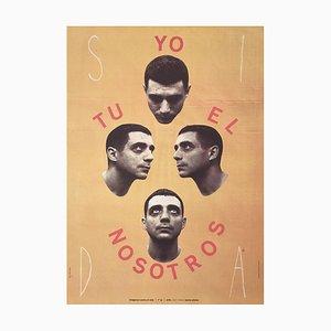 I Tu the Us Plakat von Jaume Plensa