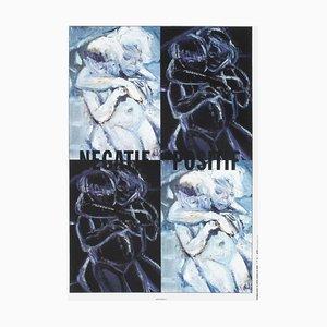 Affiche Négative Positive par Marlene Dumas