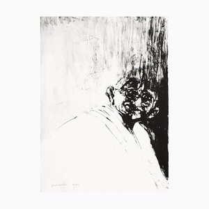 Ritratto di Gandhi di Ahmed Shahabuddin