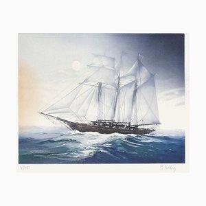 Three Masts par Jacques Fielding