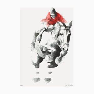 Saut d'obstacle by Jean,Louis Guitard